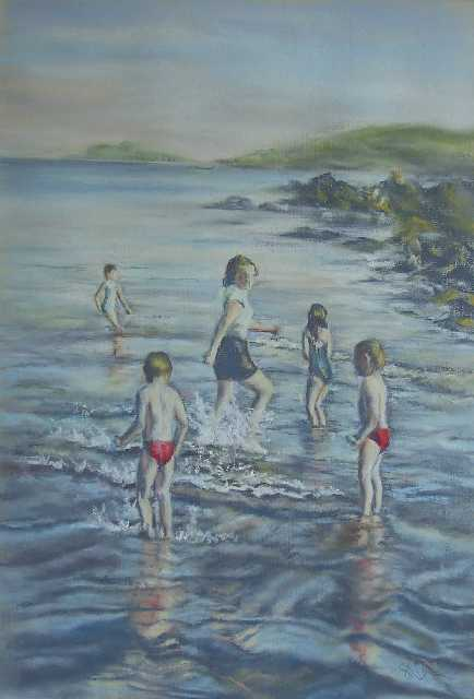Bathers at Rockcliffe