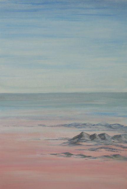 Sky Sea Sand Rocks